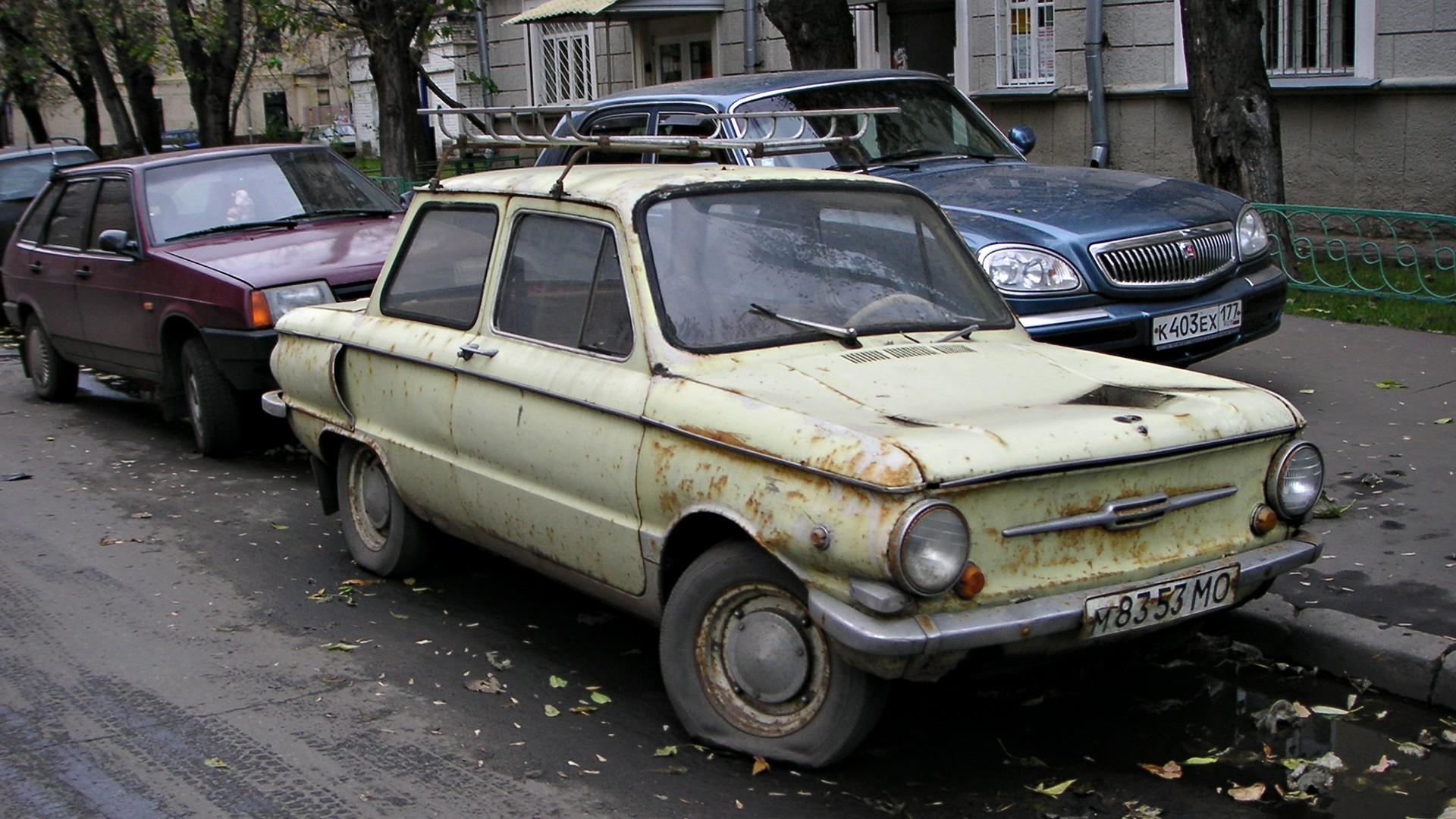Экспертами подсчитано количество машин в России старше 30 лет