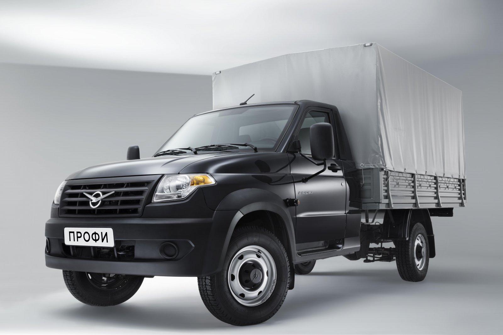 Теперь с будкой: УАЗ «Профи» получил новый кузов