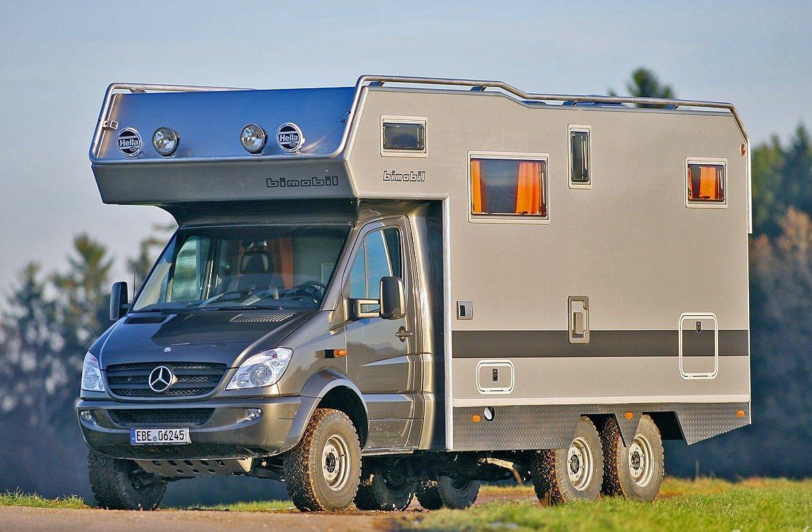 Уютный дом на колесах за $20000 для путешествий по миру